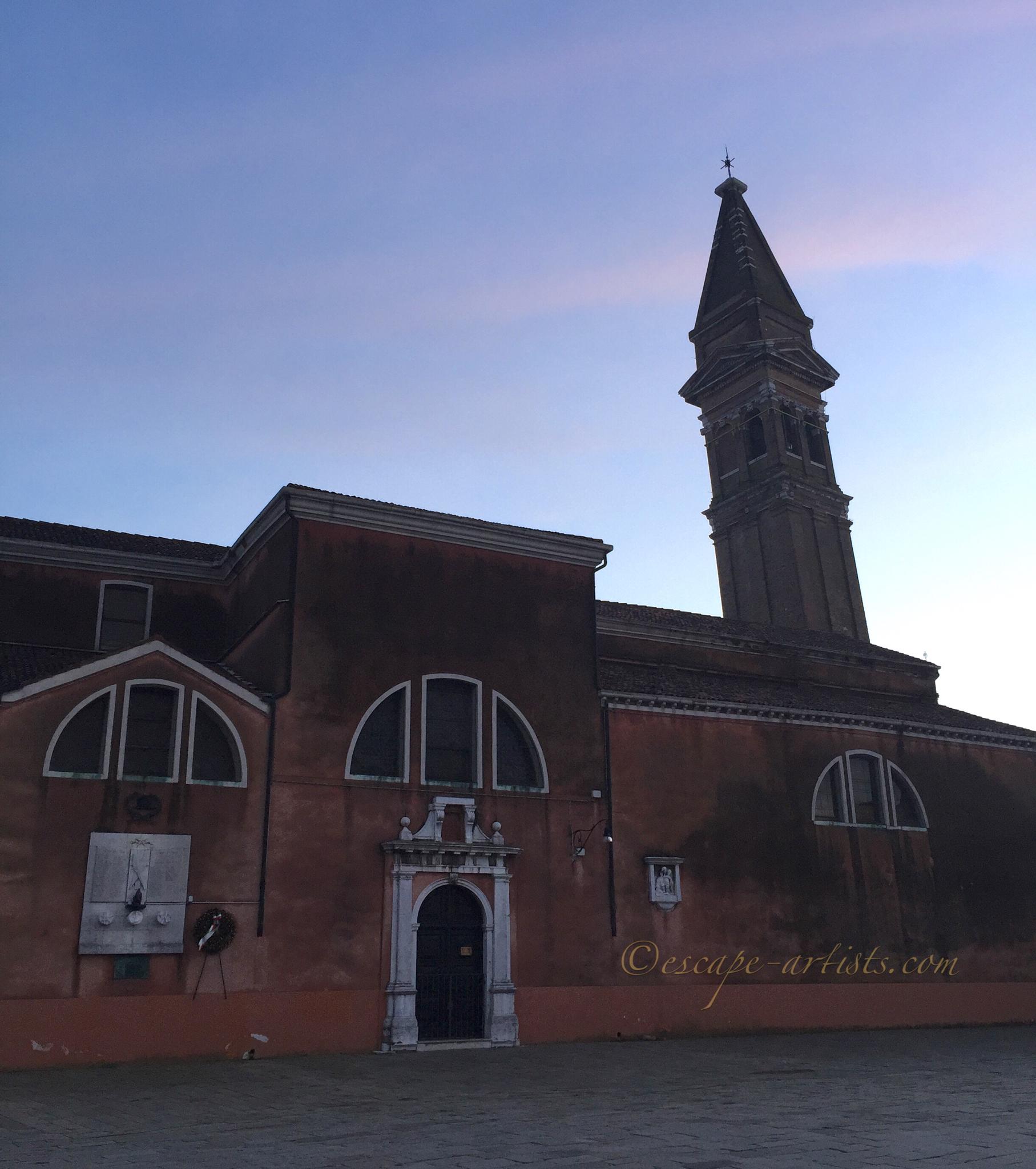 The Campanile Storto di Burano