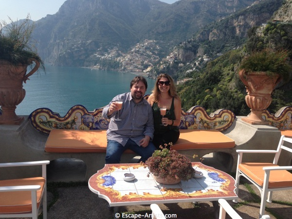 Just one of the many spectacular views I was gifted on my adventure with Gaetano!!